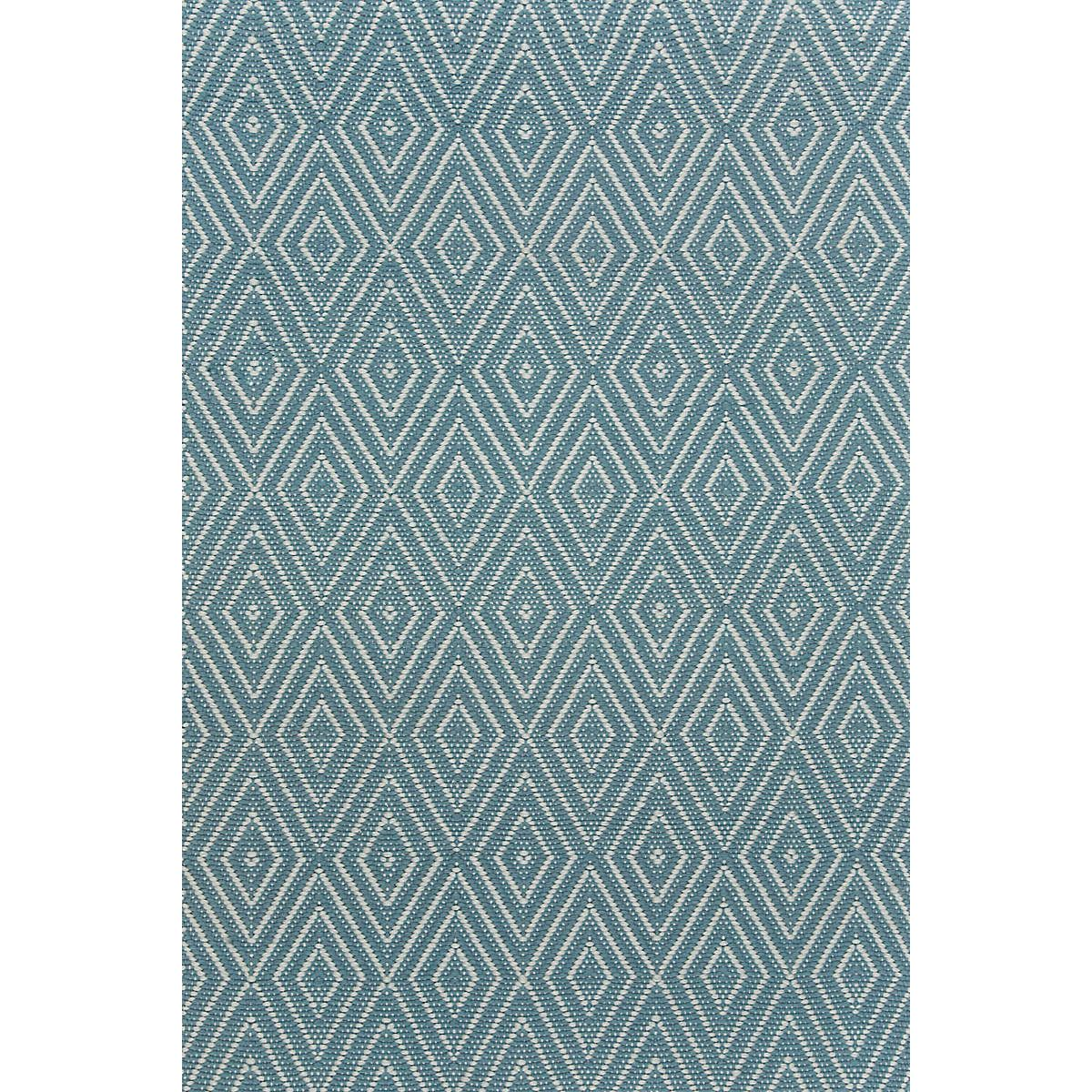 Diamond Slate Light Blue Indoor Outdoor Rug