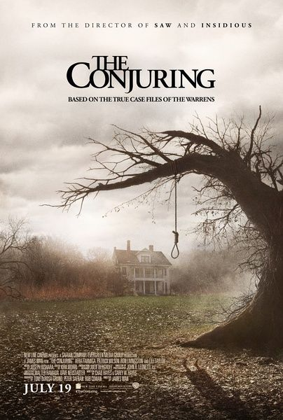 The Conjuring- This movie is great. The story, the acting, the effects..it was all around a good scary movie and to make it even scarier, its true >:)