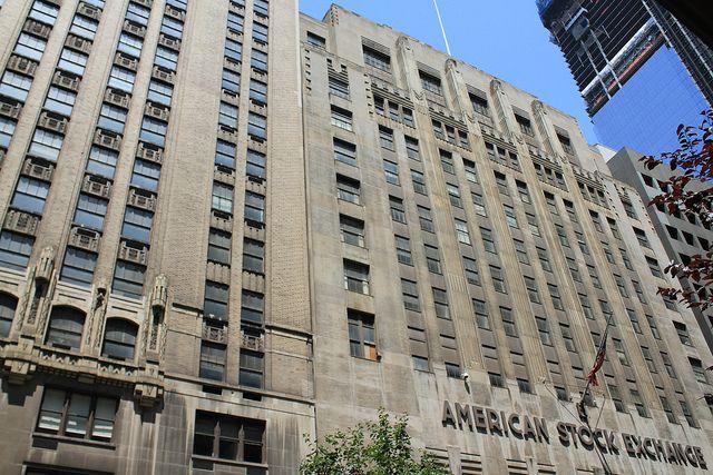 Financial District, Manhattan, New York City, New York, United States The New York Curb Exchange ...