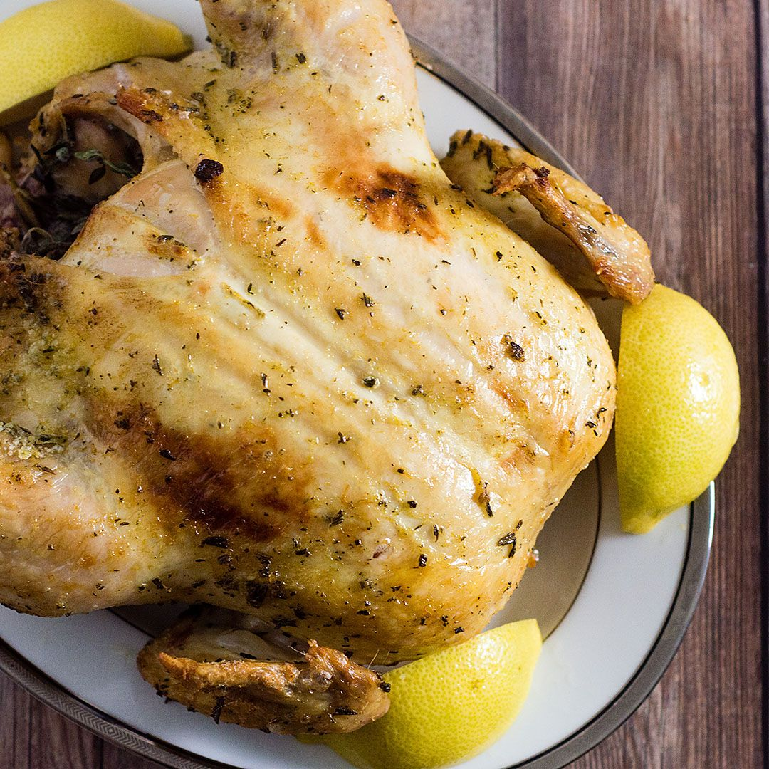 Herb & Citrus Dry-Brined Turkey