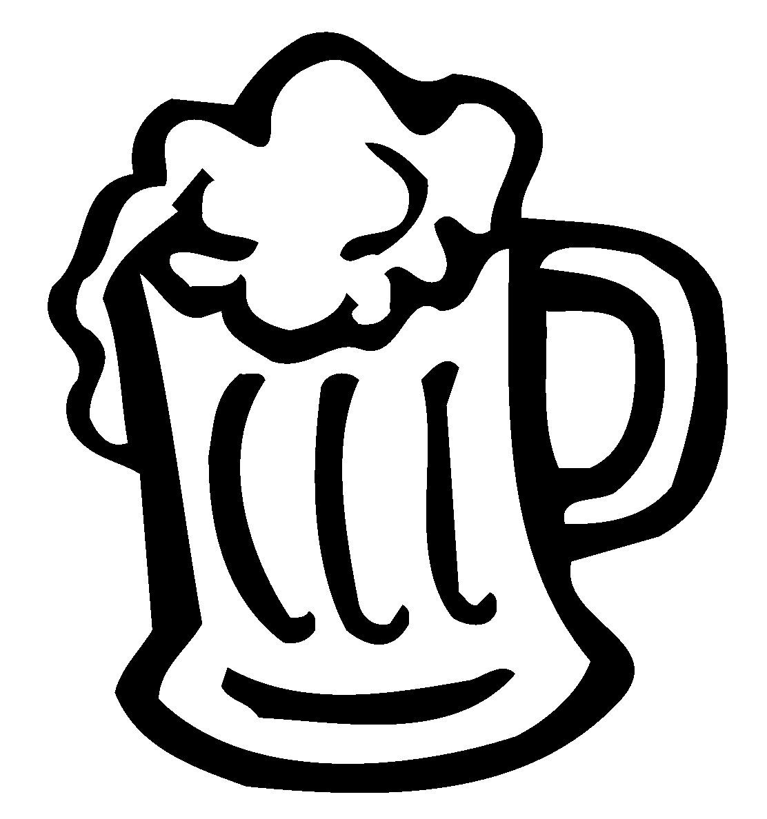 Beer Mug Decal Beer Mug Sticker Clipart Best Clipart Best