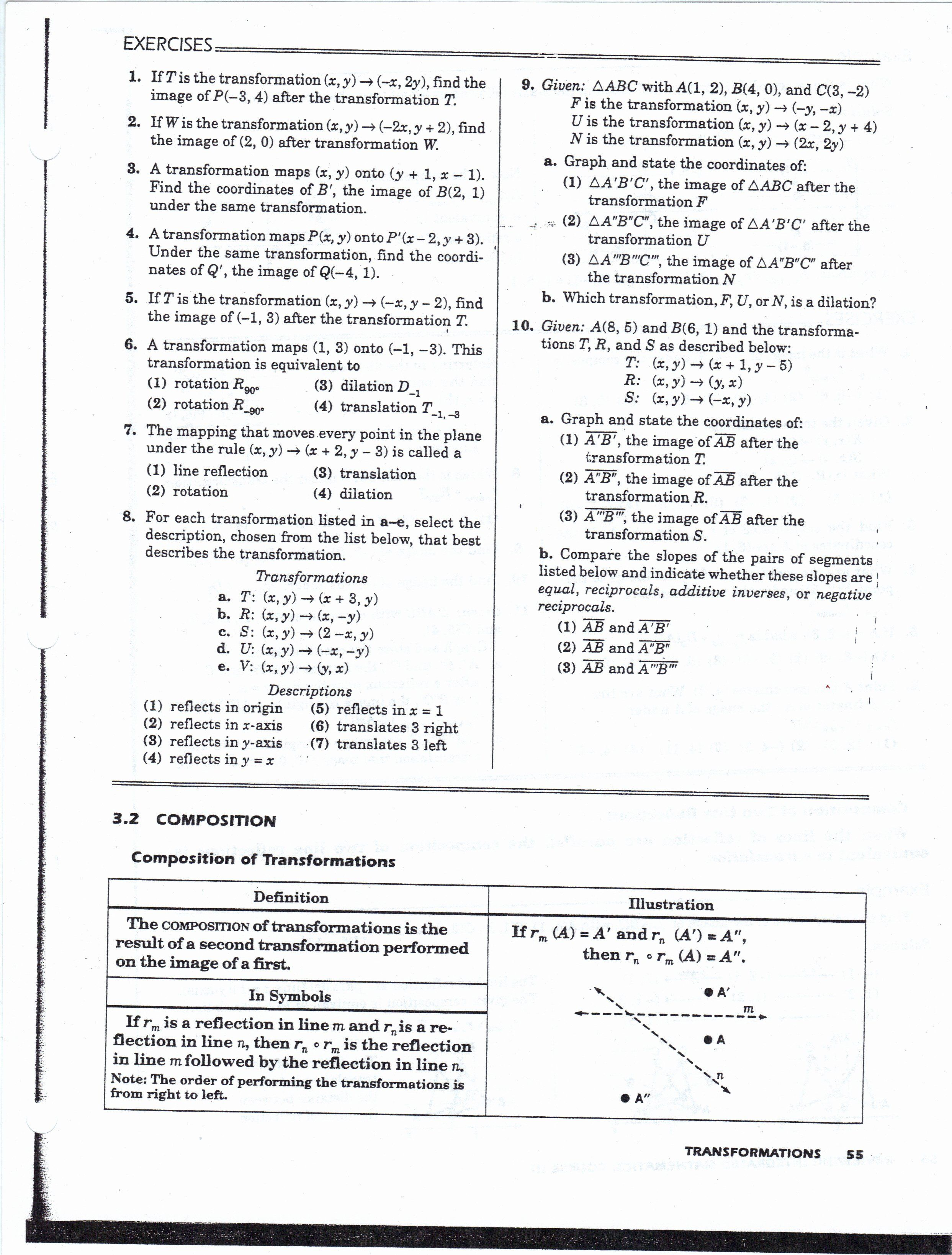 Midsegment Theorem Worksheet Answer Key Lovely Geometry