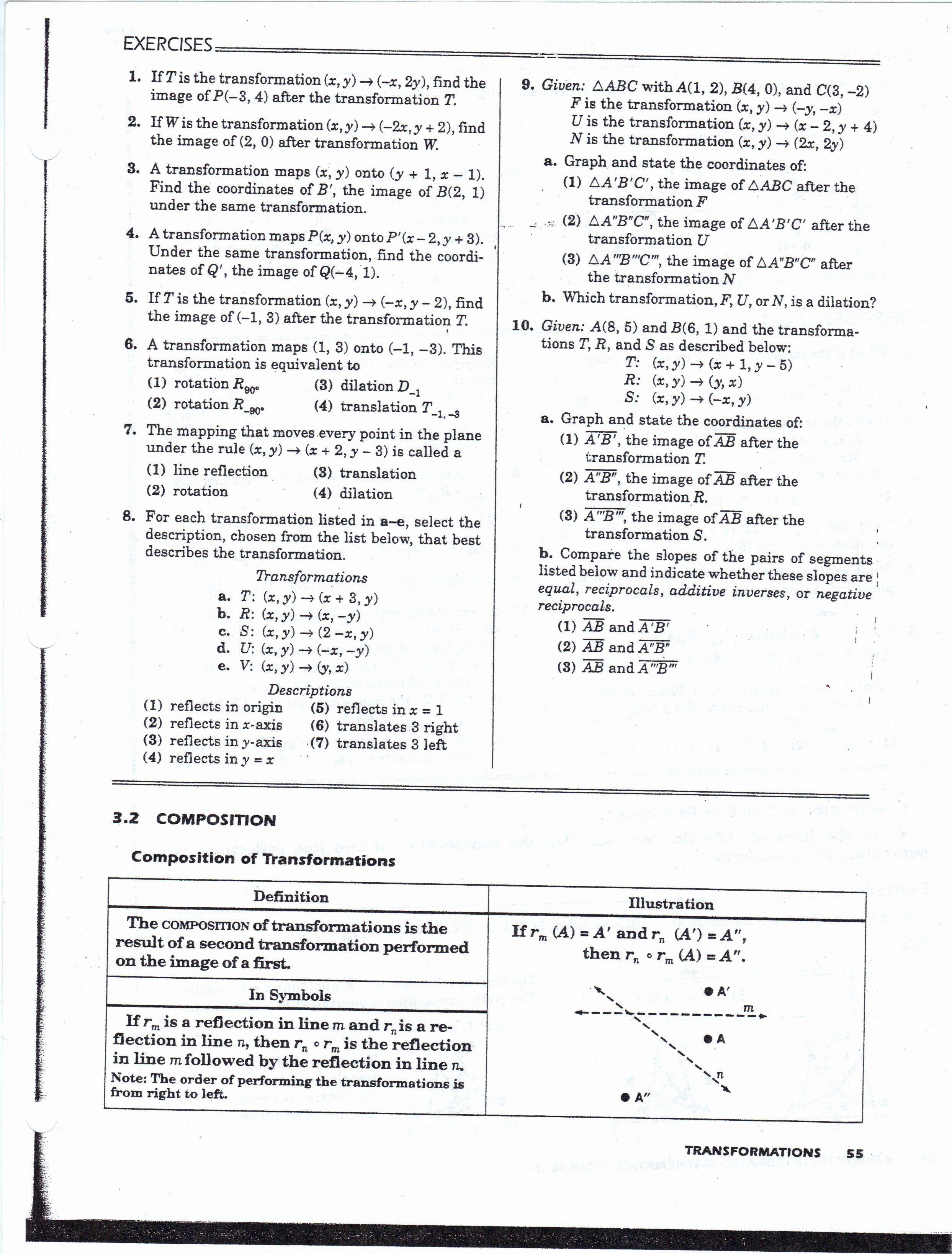 Midsegment theorem Worksheet Answer Key Lovely Geometry ...