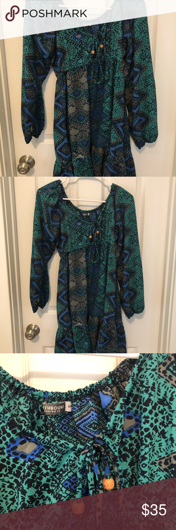 Earthbound trading co dress size medium in my posh closet