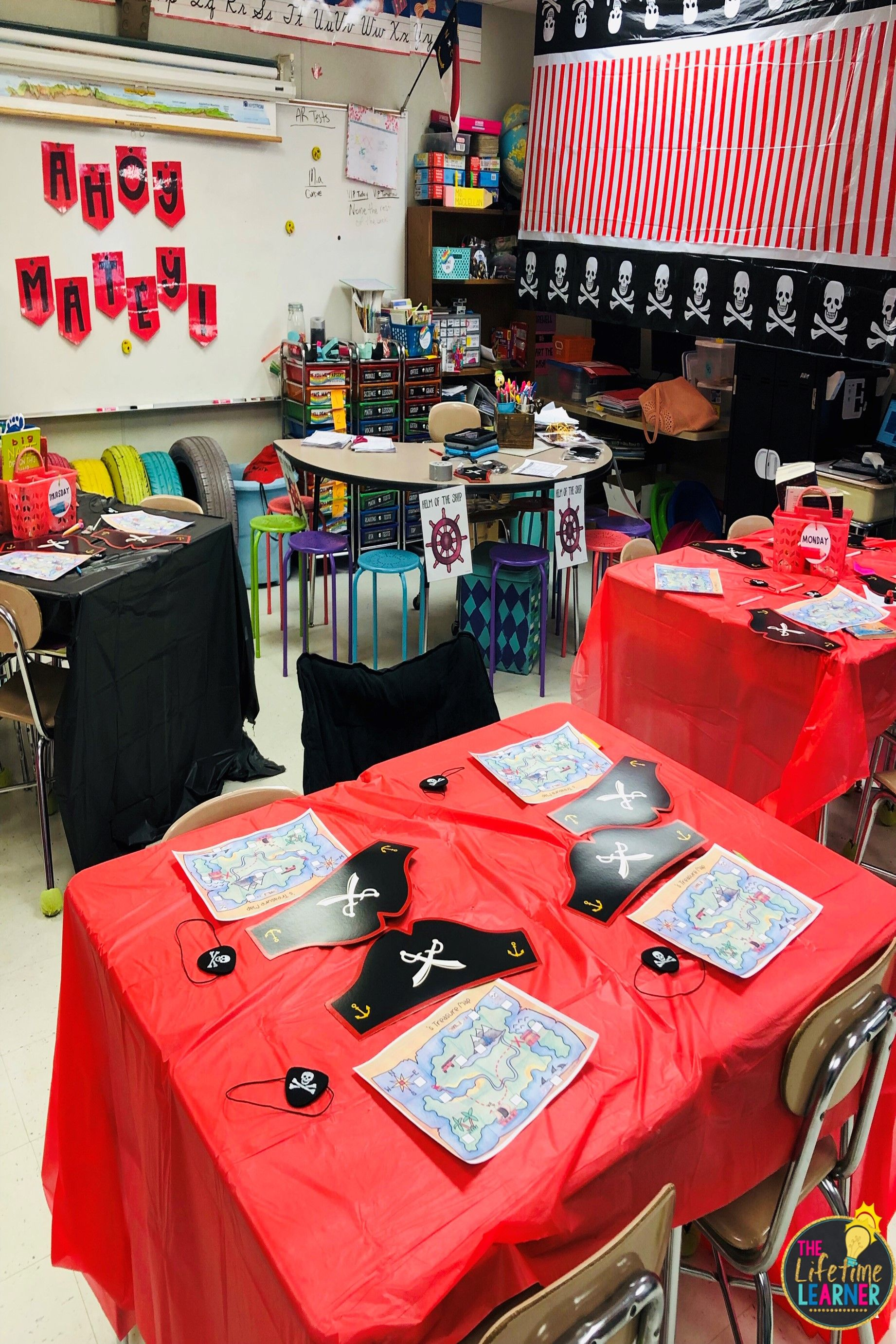 Check Out This Fun Pirate Classroom Transformation For 3rd