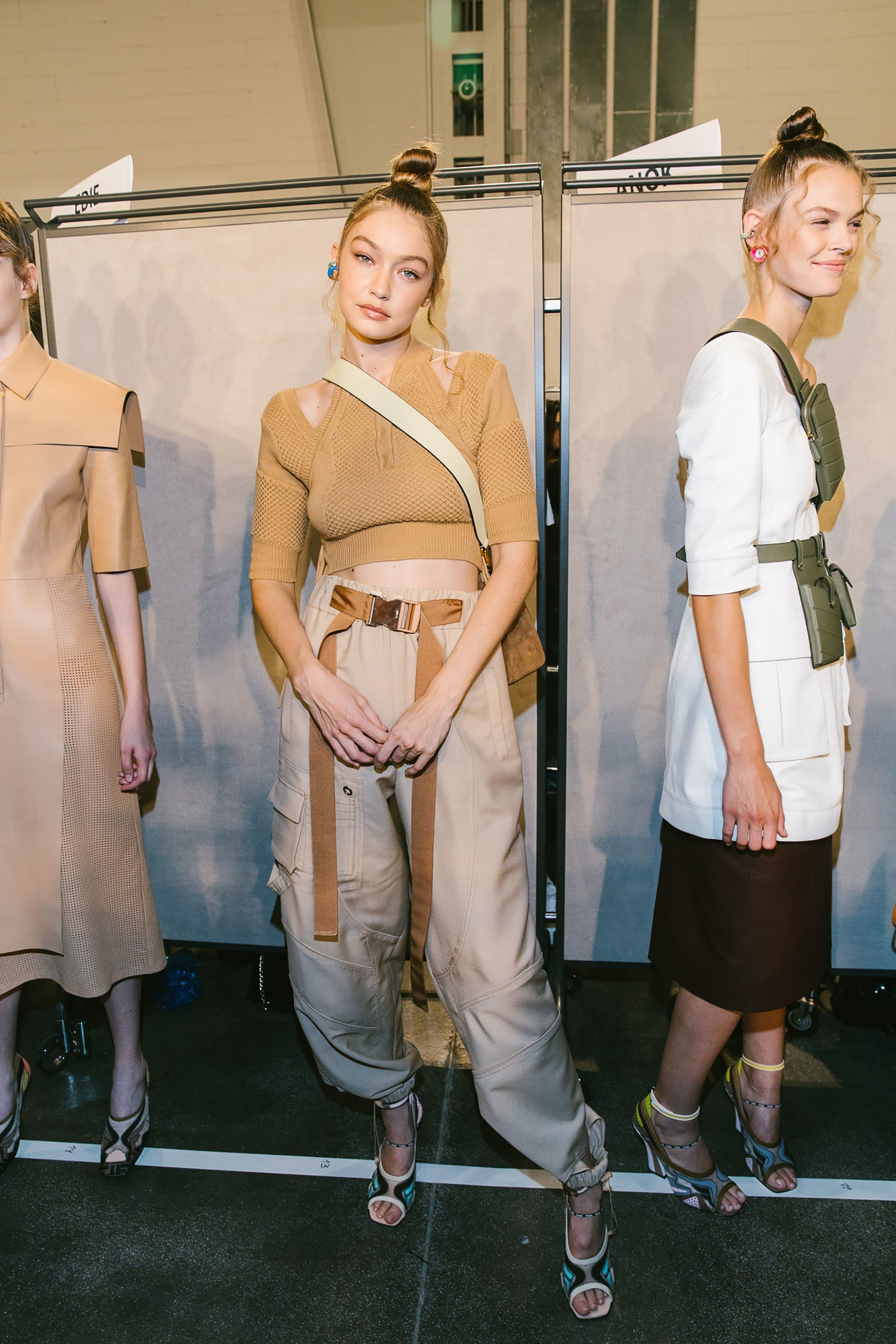 The Best Backstage Photos From Milan Fashion Week Spring 2019 ... 089c5354d3c8a