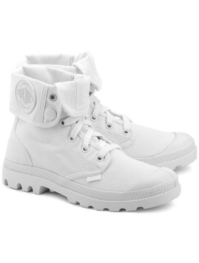 Baggy Biale Canvasowe Trapery Damskie 92353154 Boots Shoes Timberland Boots