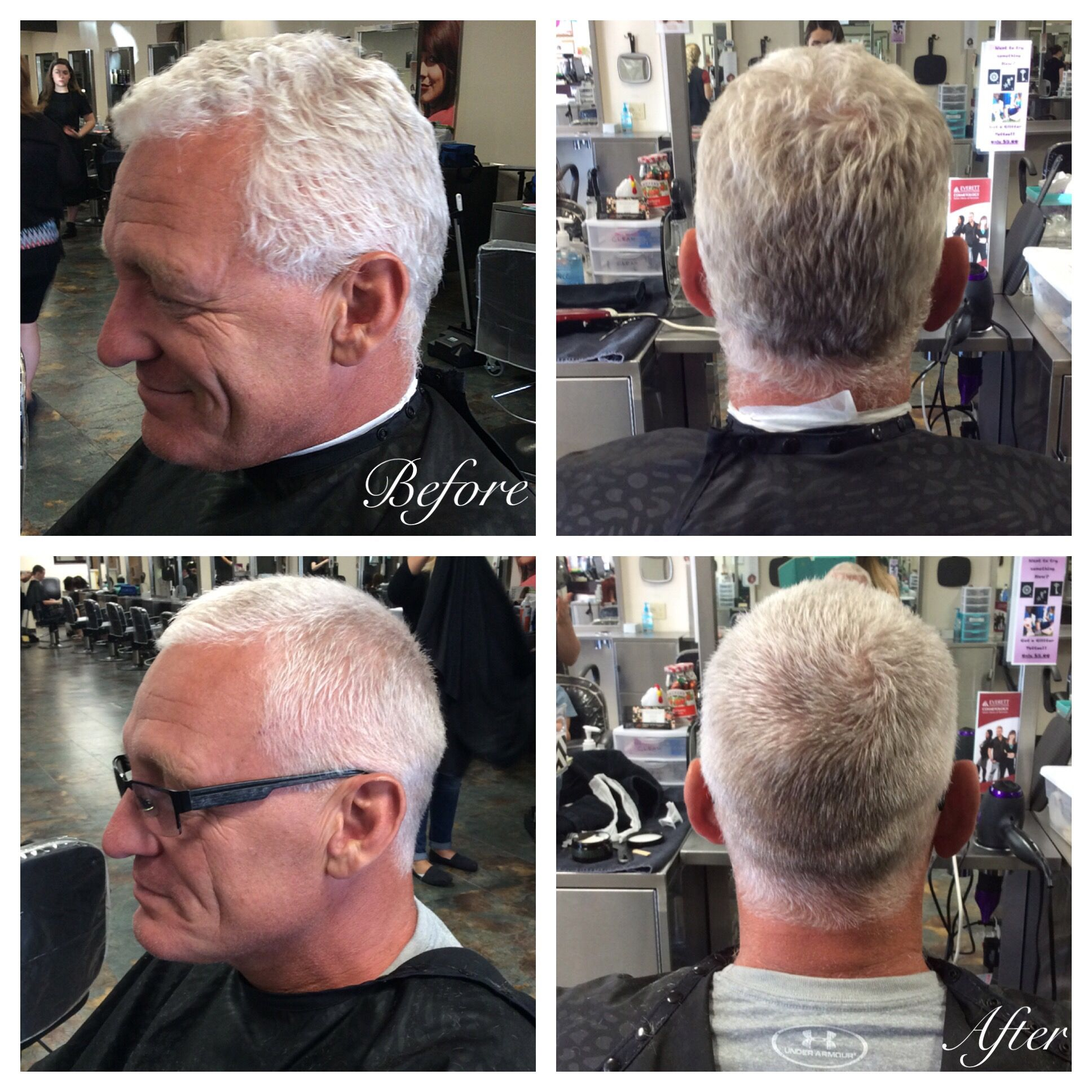 2 Guard Fade Up Using Clippers Finge Length On Top 10 1216