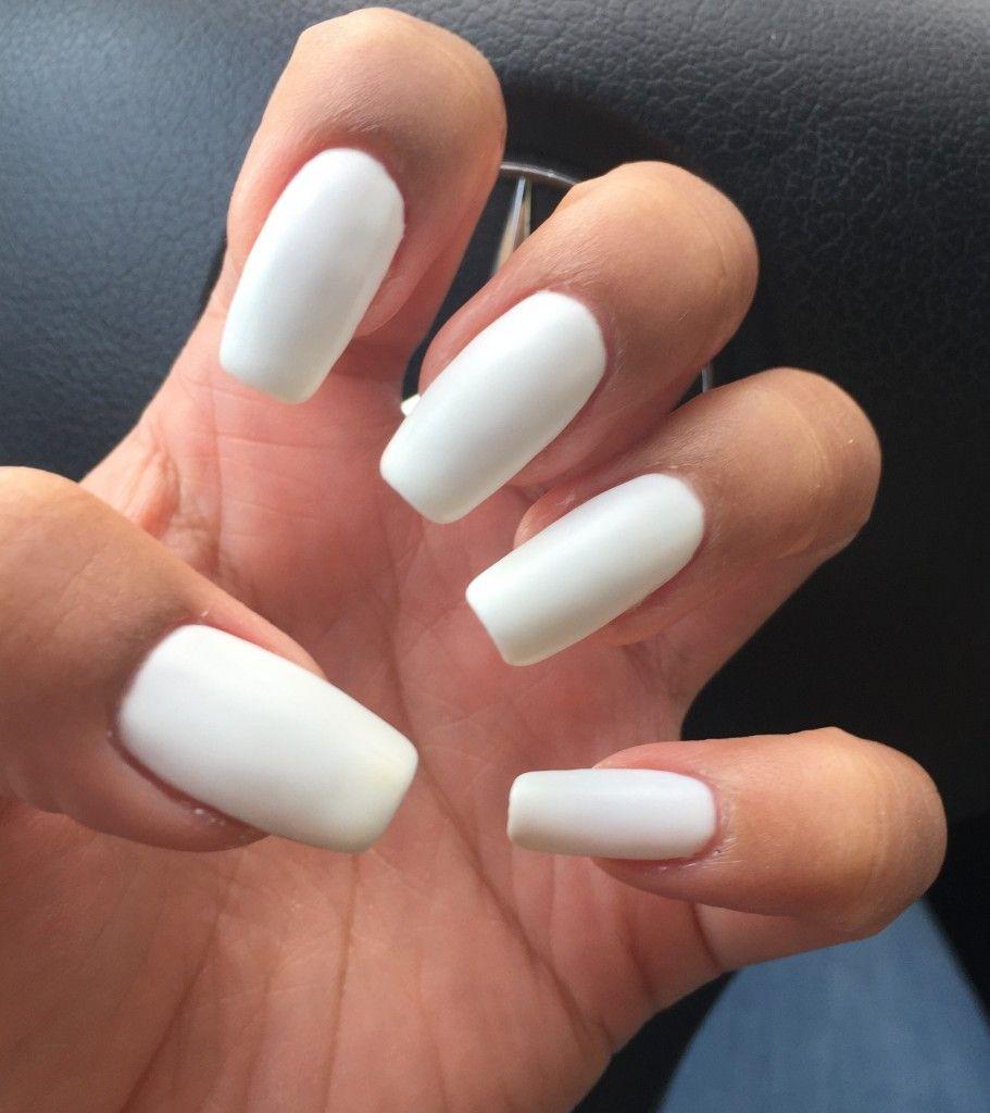 Manicure Monday: Matte White