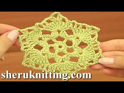Crochet 8 Petal 3d Flower Tutorial 5 3d Blume Häkeln Youtube