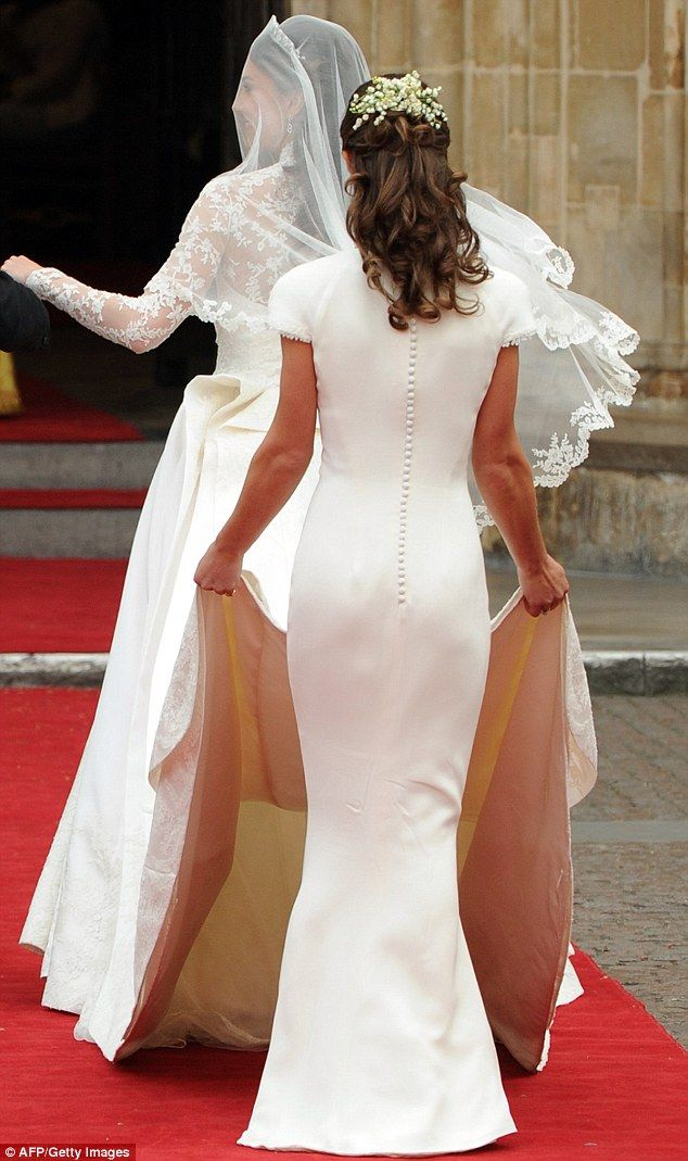 Pippa Opens Up About Insignificant Bridesmaid Dress At Royal Wedding