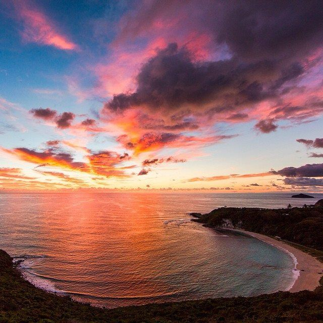 Lord Howe Island Beaches: A Seriously Spectacular Sunrise At Neds Beach On Lord Howe