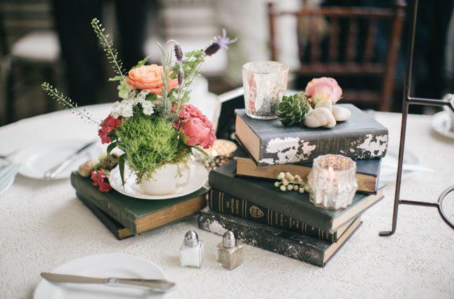 Bohemian Vintage Tea Party Wedding Amity Jesse Tea Party Wedding Vintage Tea Party Wedding Table Centerpieces