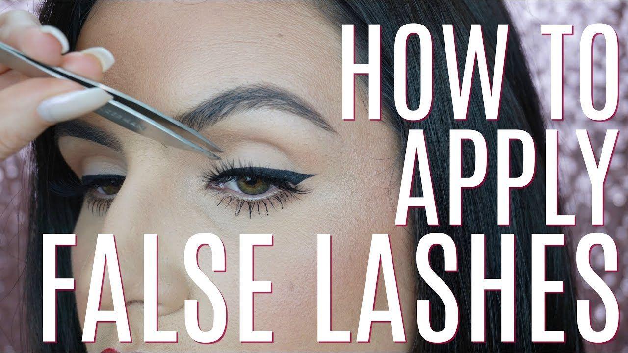 Tips & tricks on applying false eye lashes, for beginners ...