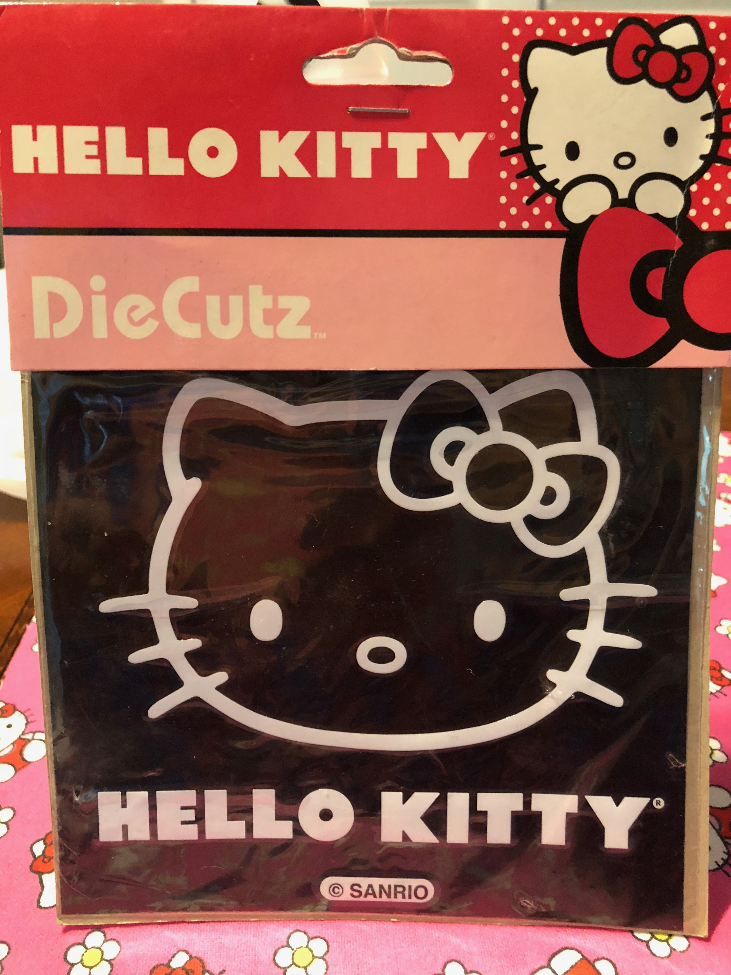 Hello Kitty Car Window Decal Hello Kitty Car Hello Kitty Pep Boys [ 4032 x 3024 Pixel ]