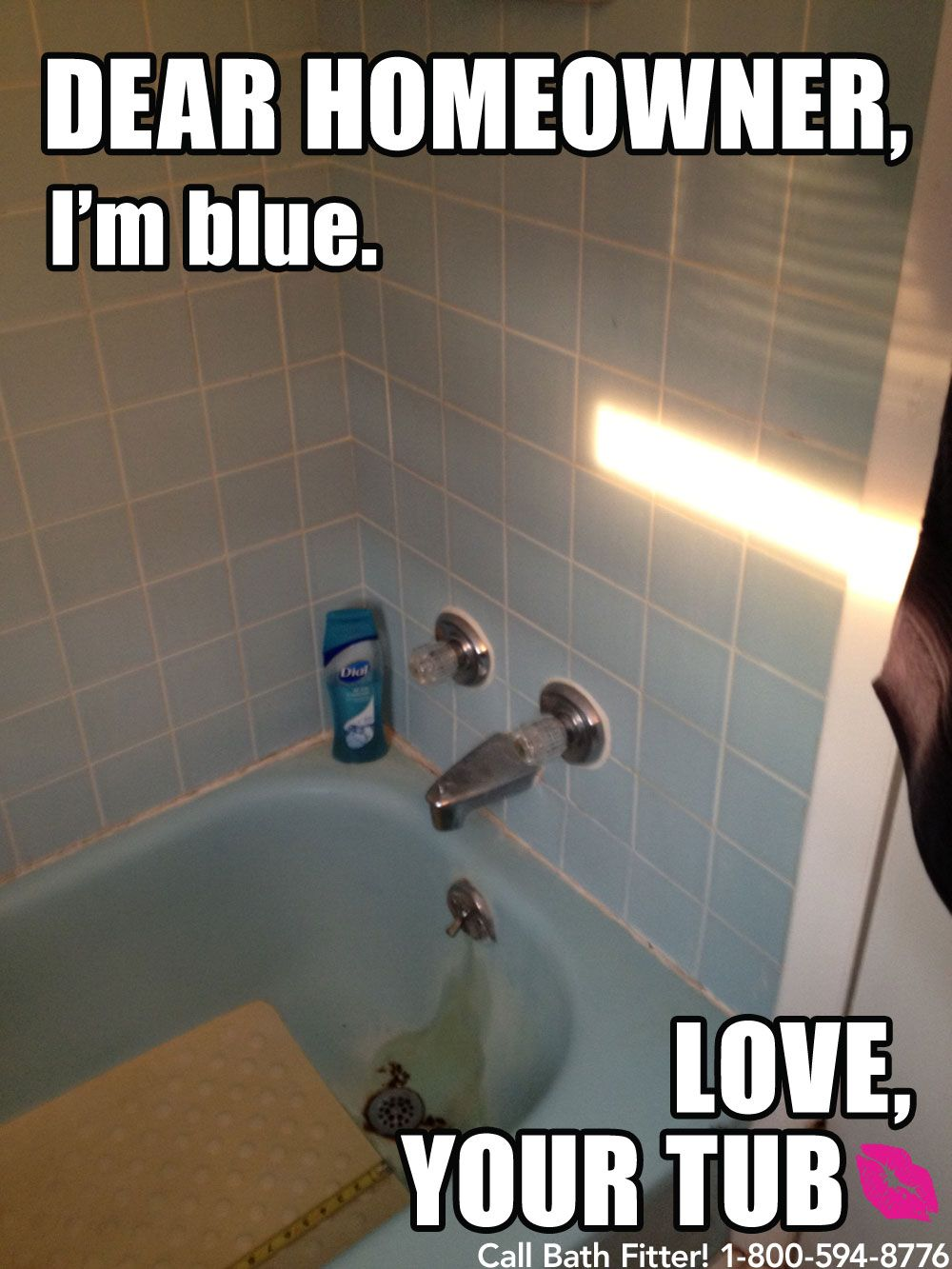 This Tub Just Wants Some Love Bathrooms Meme If Your Tub Could Talk Pinterest Bathroom