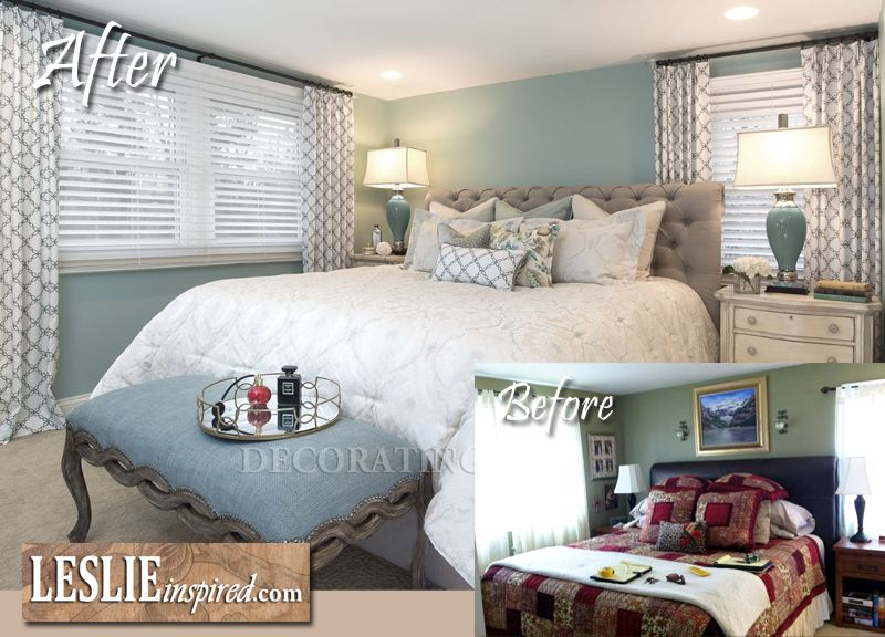 room makeover: uncluttered and functional http://www