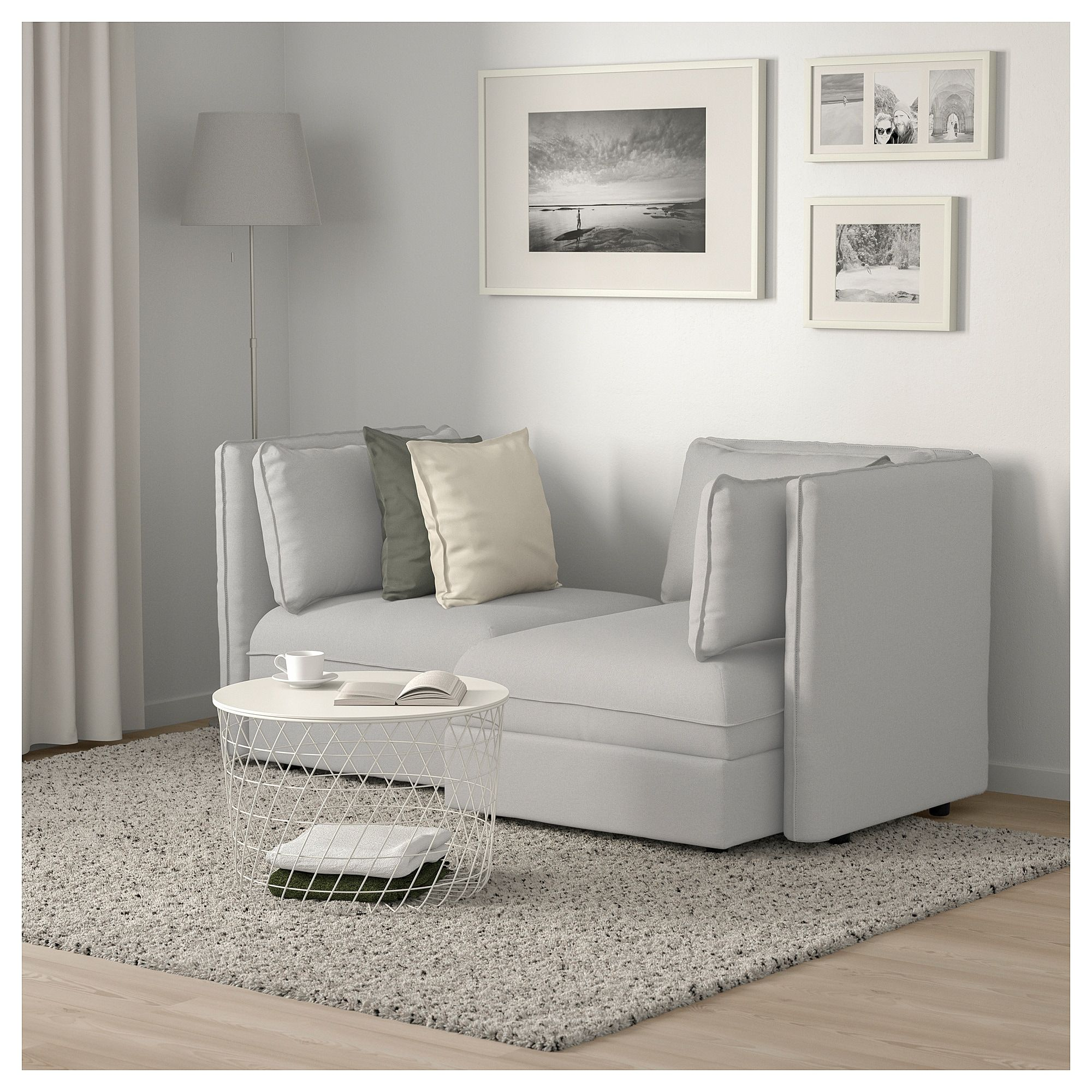 Astonishing Ikea Vallentuna Modular Loveseat With Storage Orrsta Gmtry Best Dining Table And Chair Ideas Images Gmtryco