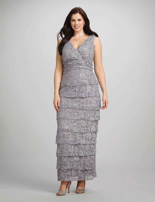 Vestidos largos para gorditas | Ideas de vestidos para gorditas ...