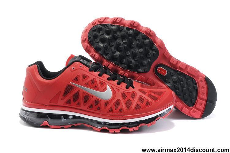 Discount 429889 600 Mens Sport Red Metallic Silver Black
