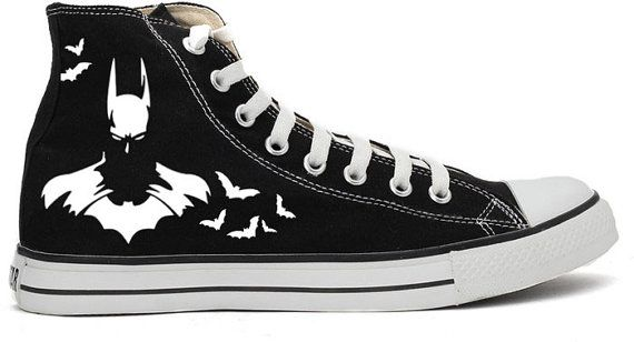 Batman Converse All Star Shoes on Etsy