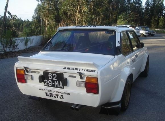 Favorite Fiat 1980 131 Abarth Rally Tribute With Images Fiat