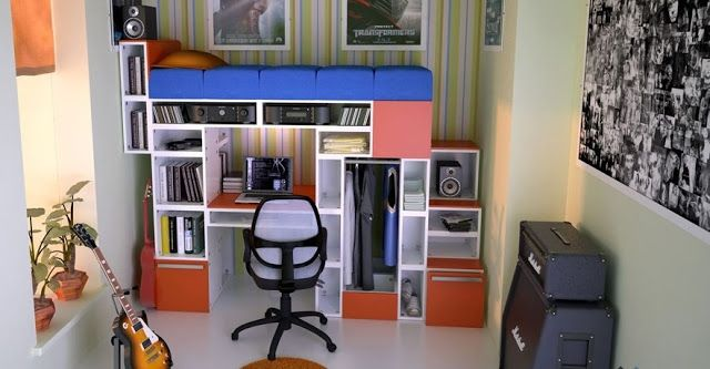How To Recycle EcoFriendly Modular Design Cubes For The Home - Design your own furniture with tetran eco friendly modular cubes