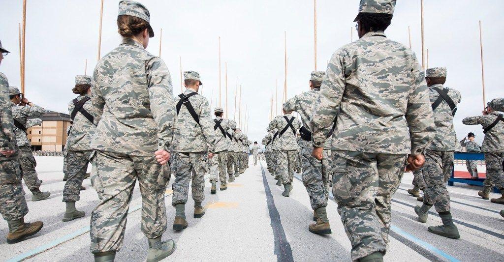 Air Force Graduation at Lackland Air Force Base Air