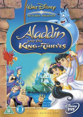 Aladdin And The King Of Thieves Dvd Aladdin Animated Movies