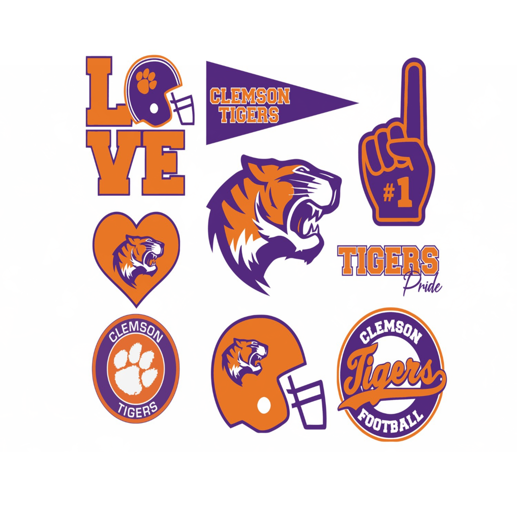 Clemson Tiger Svg 1 Football Svg Football Gift Clemson University Clemson Football Clemson Tiger Footba Football Logo Clemson Tigers Football Football Gifts