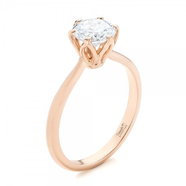 Elegant Solitaire Engagement Ring   Joseph Jewelry   Bellevue   Seattle    Online   Designers of. AneisAnéis ... 8a251d4d38
