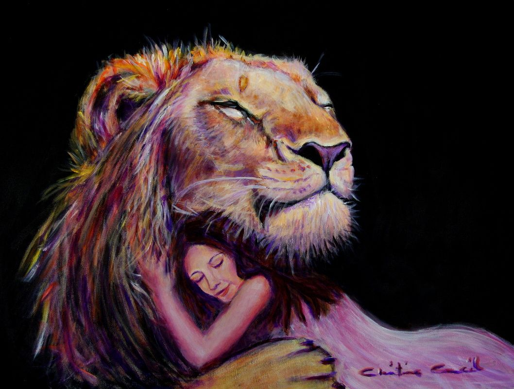 This artist has a heart for God that comes through beautifully in her paintings!  Fear Not
