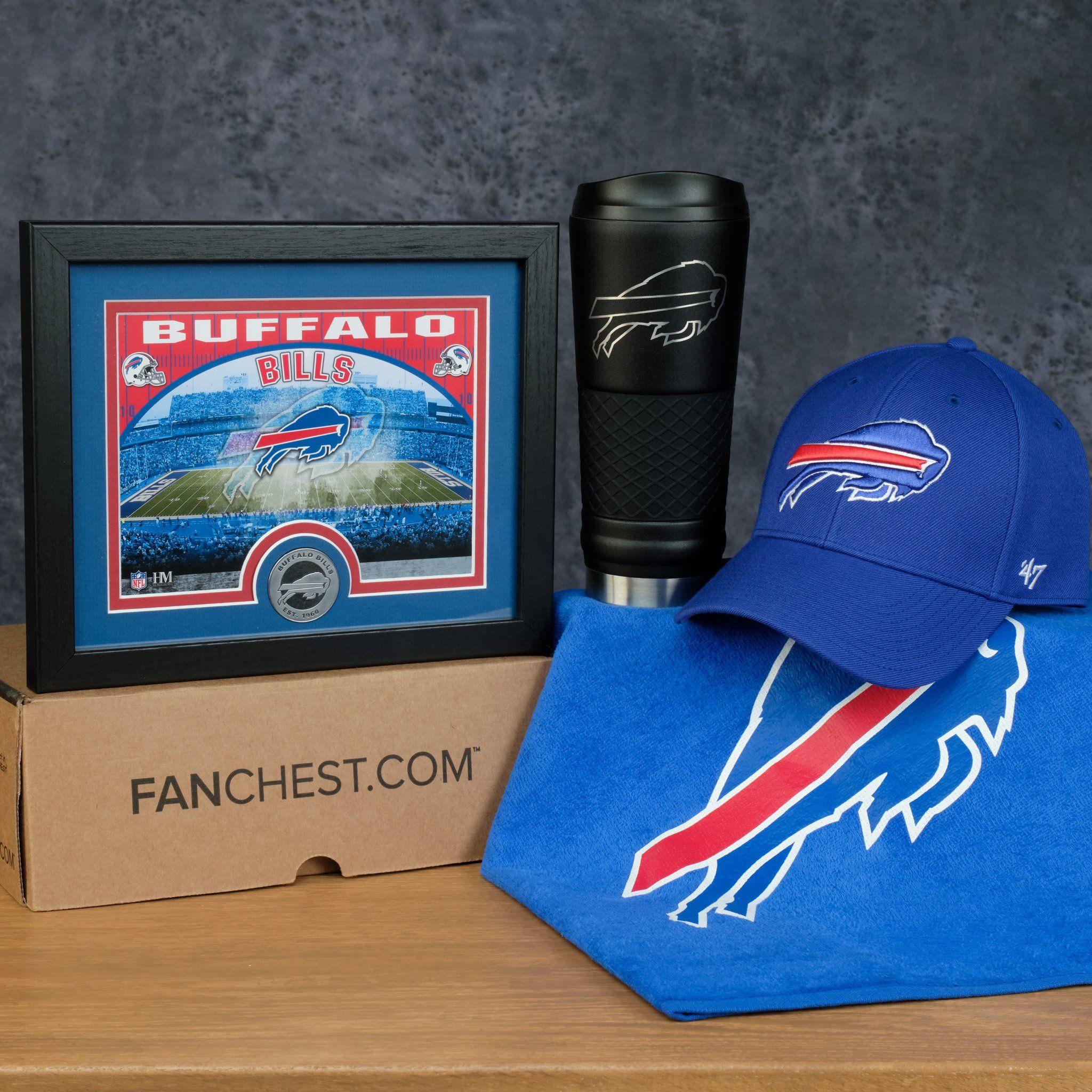 Buffalo bills gifts box premium bills gear fanchest
