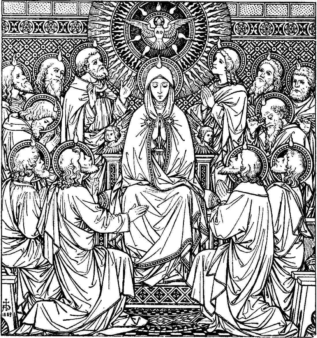 day of pentecost art religious pinterest pentecost