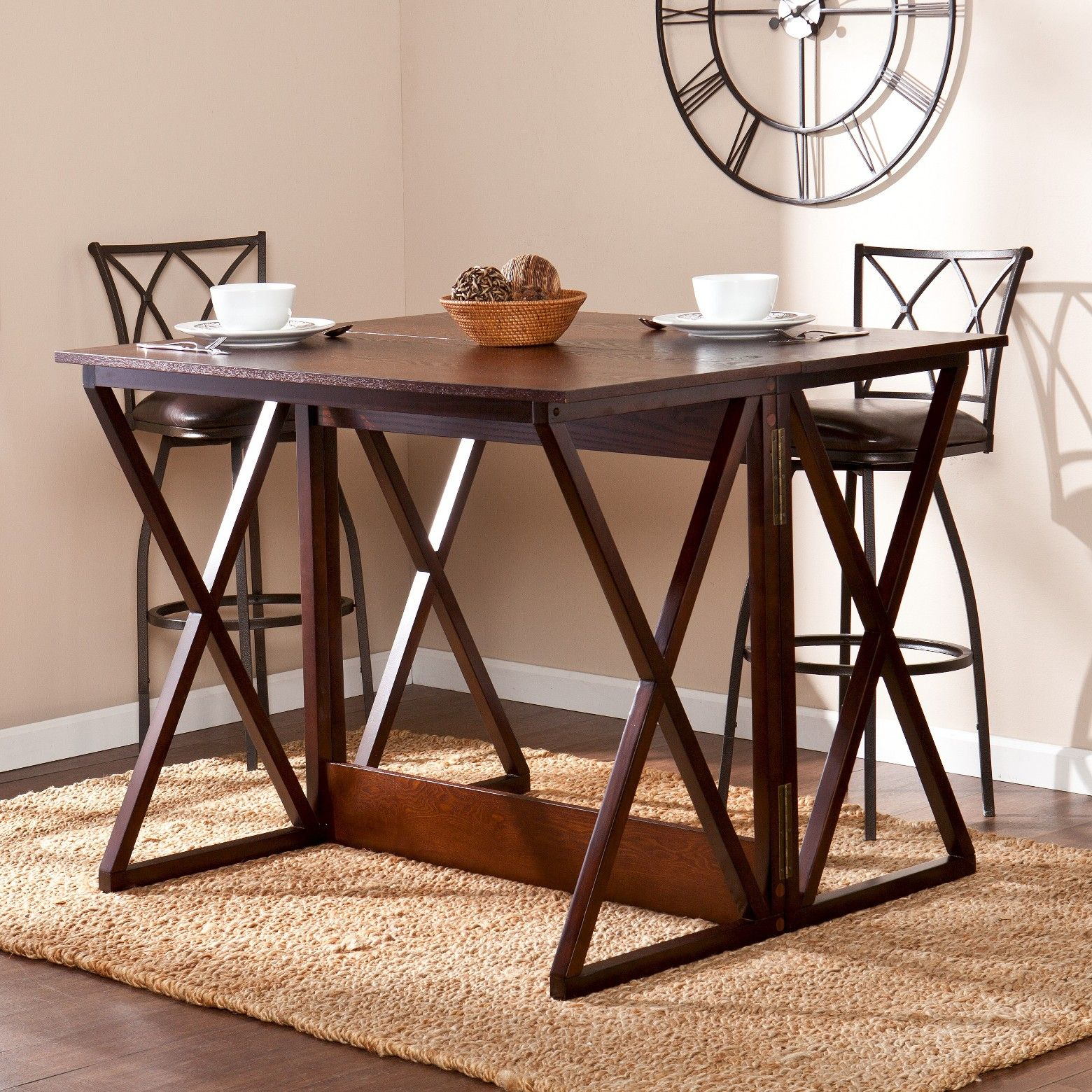 Expandable Counter Height Table Coffee Aiden Lane Dining