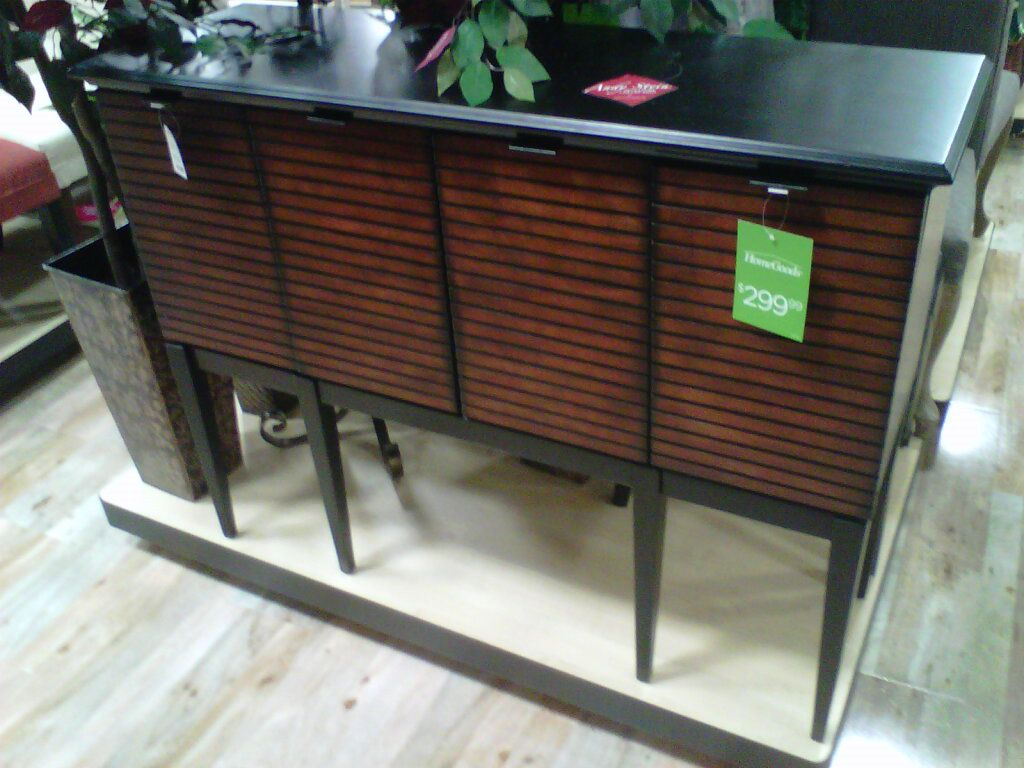 Console table home goods store home goods home appliances