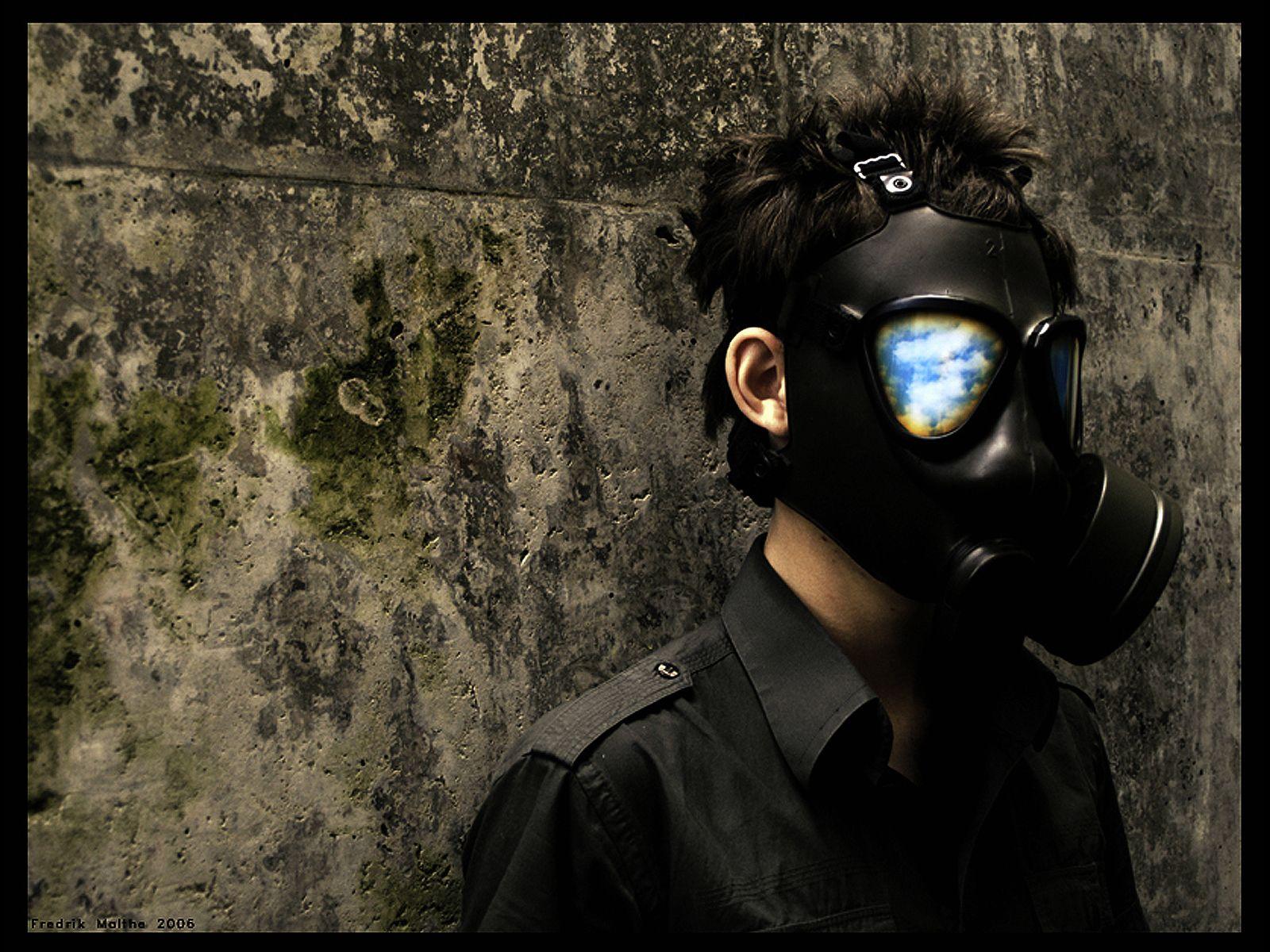 Top Gas Mask Skull Wallpaper Wallpapers | Gas masks | Pinterest ...