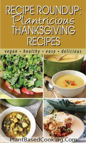 Recipe Roundup: Plantricious Thanksgiving Recipes