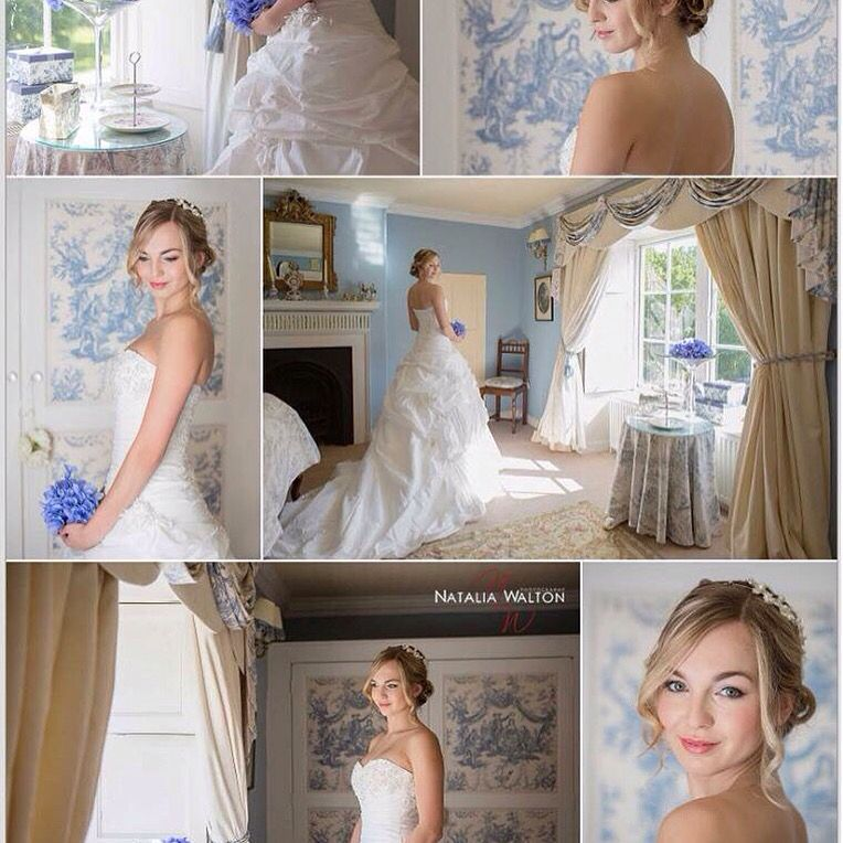 Bridal Photoshoot Mood Board Taken At Walcot Estate, Dress
