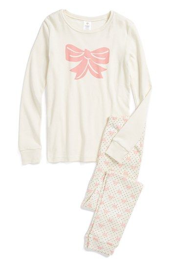 d366752bc Tucker + Tate Two-Piece Fitted Pajamas (Little Girls   Big Girls ...