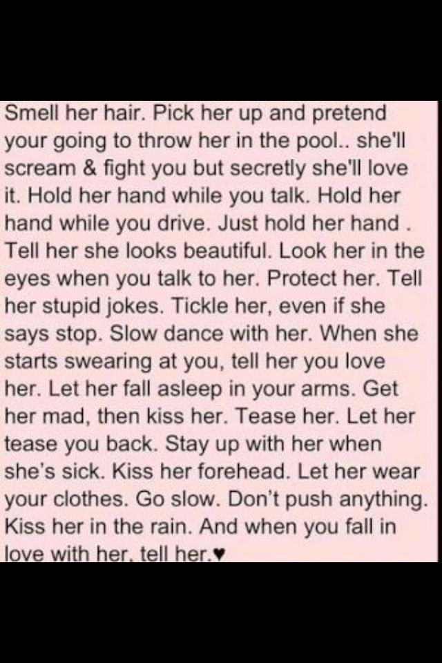 what every guy should do