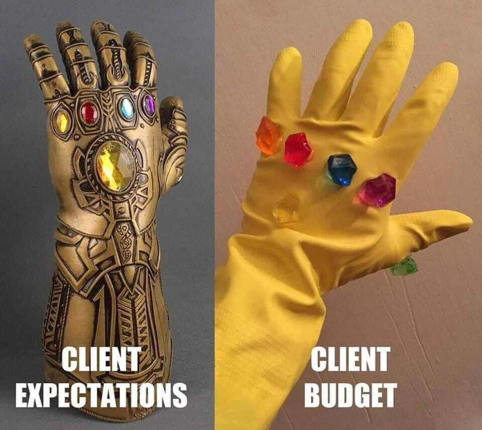 The Coding Love On Funny Design Memes Budgeting