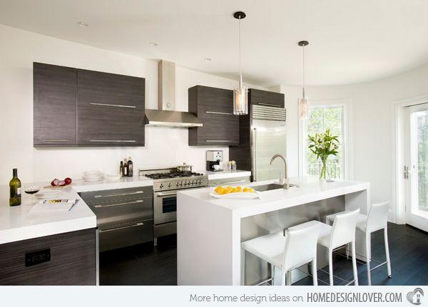 15 Lovely L-Formed Kitchens -   #kitchen #kitchen design #L-shaped kitchen - #interiordesign #home #house #housedecoration