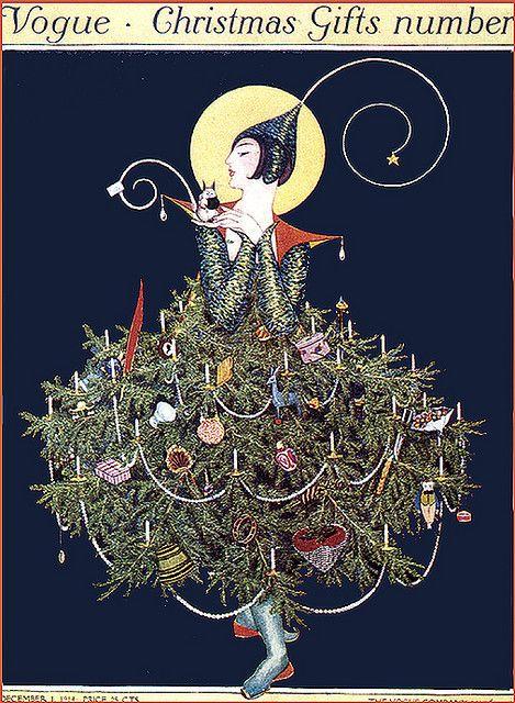 Vogue Christmas Gift Number Holiday Magazine Covers Vintage Vogue Covers Vintage Christmas Images