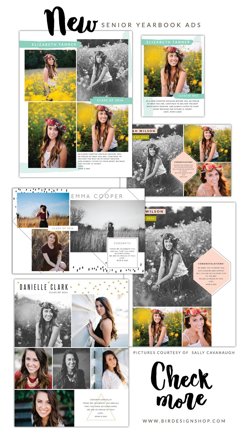 New Senior Yearbook ads | Senior yearbook ads, Yearbooks and Photoshop