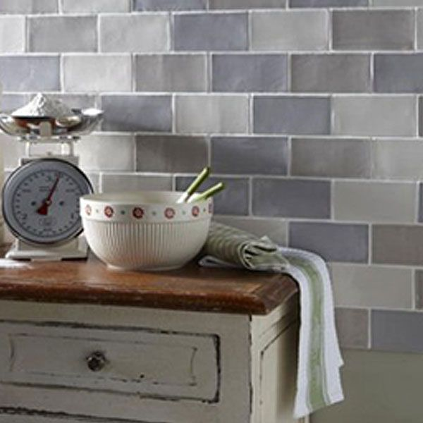150x75mm Metro Tiles In Various Colours With Le Glaze Manual Craquele Range Available Roca Mar Nacar Cian