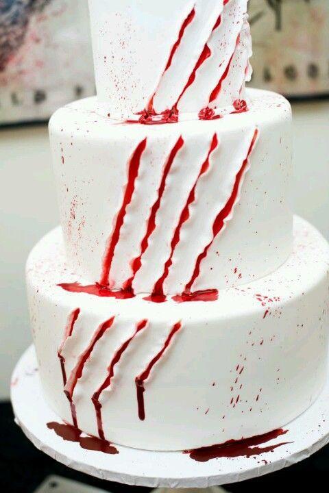 20 creepy spooky and scary halloween cakes - Scary Halloween Cake Recipes