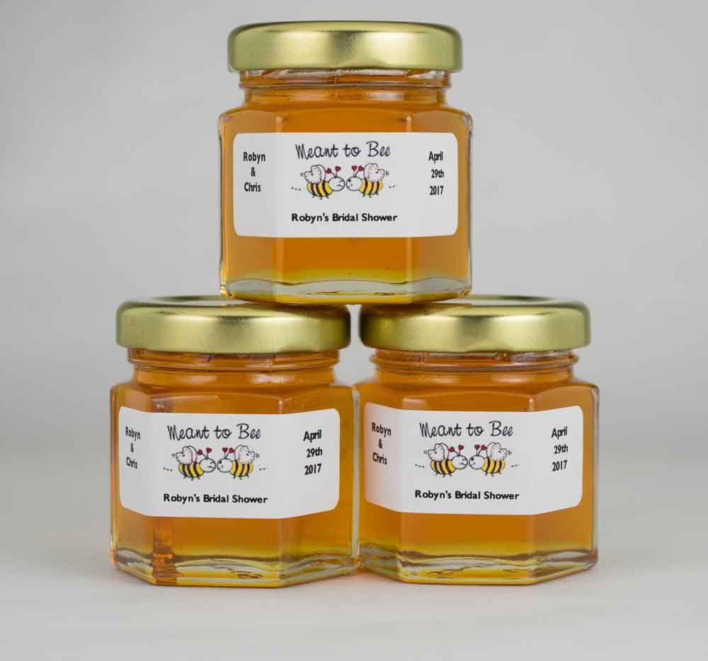 Personalized Wedding Favor Labels From Pinterest Honey Jar
