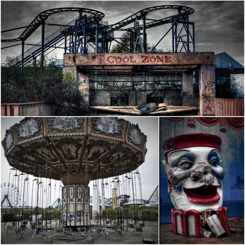 Abandoned Amusement Park: Abandoned And Forgotten Places