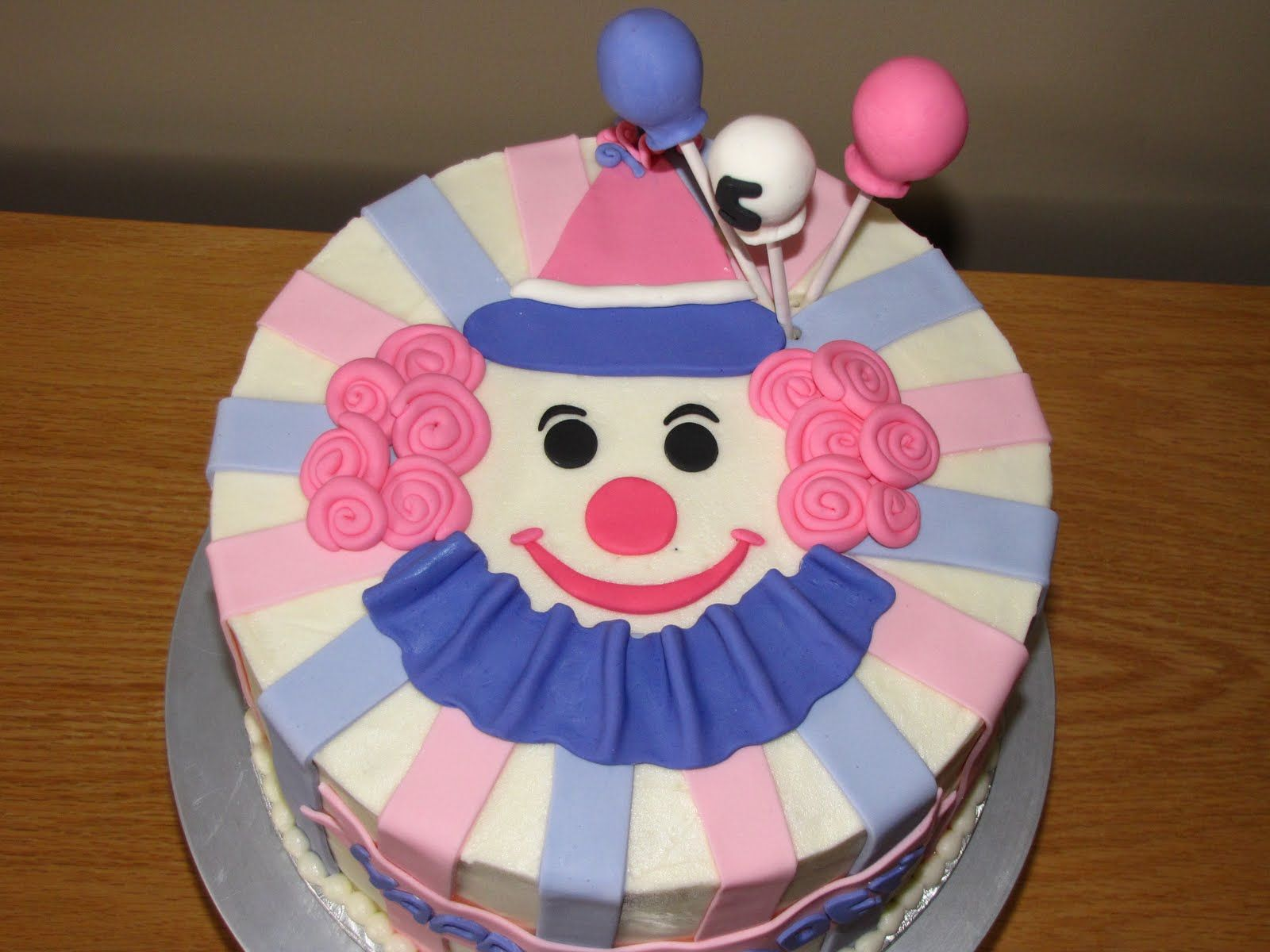 photo Clown Cake